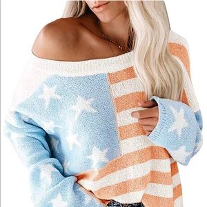 Tops - Patriotic Sexy Jumper Must Have for Fall